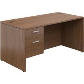 "Offices To Go Ionic Single Pedestal Desk 60""W x 30""D x 29""H Wint"