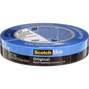 "ScotchBlue Masking Tape - 0.94""  (24 mm)  Width x 60.1 yd  (55 m)  Length - Removable, Easy Tear"