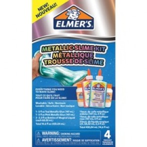 Elmers Slime Activator Solution - Crafting - Recommended For - Teal, Pink