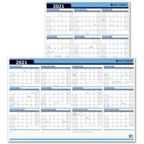 Day-Timer Reversible Wall Planner (2020)