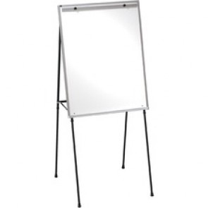 "Quartet Dry-erase Steel Easel - 40"" (3.3 ft) Width x 29"" (2.4 ft) Height - White Surface - Steel Frame - Tabletop, Floor Standing - 1 / Pack"