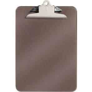 Westcott Smoke Colour Plastic Clipboard - Letter Size