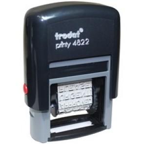 Trodat Printy 4822 Self-Inking Stamp - 10 Pack