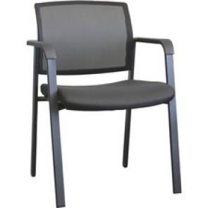 "Horizon Activ A-20 Guest Chair - Mesh Fabric Back - Four-legged Base - 18.5"" Seat Width x 19.5"" Seat Depth"