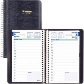 Blueline Daily Planner 2021, Blue