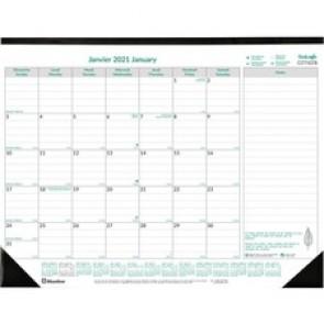 Blueline EcoLogix Monthly Desk Pad 2021