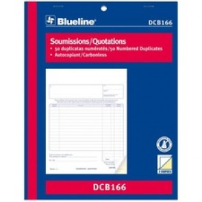 Blueline Quotation Book