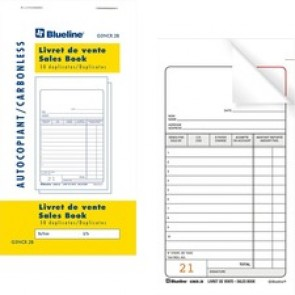 Blueline Sales Orders Book