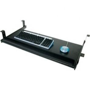 """Horizon KL28S Keyboard Tray - 11.8"""" Width - Polymer, Laminate, PVC"""
