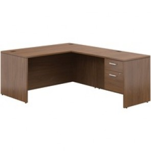 Offices To Go Ionic™ L Shape Workstation