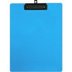 "Geocan Letter Size Writing Board, Light Blue - 8 1/2"" x 11"" - Plastic, Polypropylene - Light Blue"