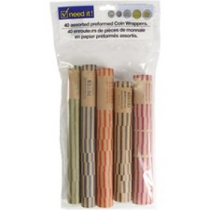 Dorfin Need it! - Paper Coin Wrappers - Mixed Pack - 40Pk