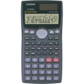 "Casio FX991MSPLUSII Scientific Calculator - 401 Functions - Protective Hard Shell Cover - 2 Line  (s) - 10 Digits - 0.5"" x 3.1"" x 6.1"" - Black"
