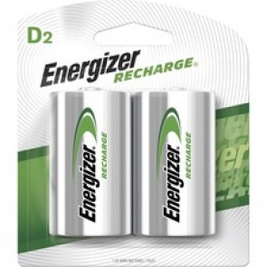 Energizer NiMH e2 Rechargeable D Batteries