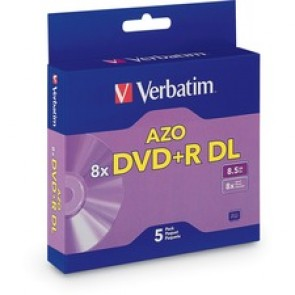 Verbatim  AZO 8.5GB dVd+R dL Media Slim Case