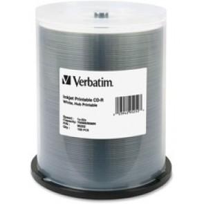 Verbatim  Verbatim 52X Inkjet/Hub Printable Cd-R discs