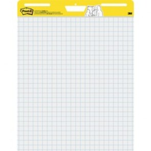 Post-it Self-Stick Easel Pad Value Pack with Faint Grid
