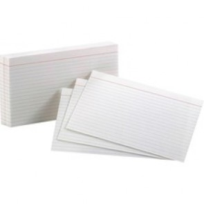 Oxford Top Quality Ruled Index Cards